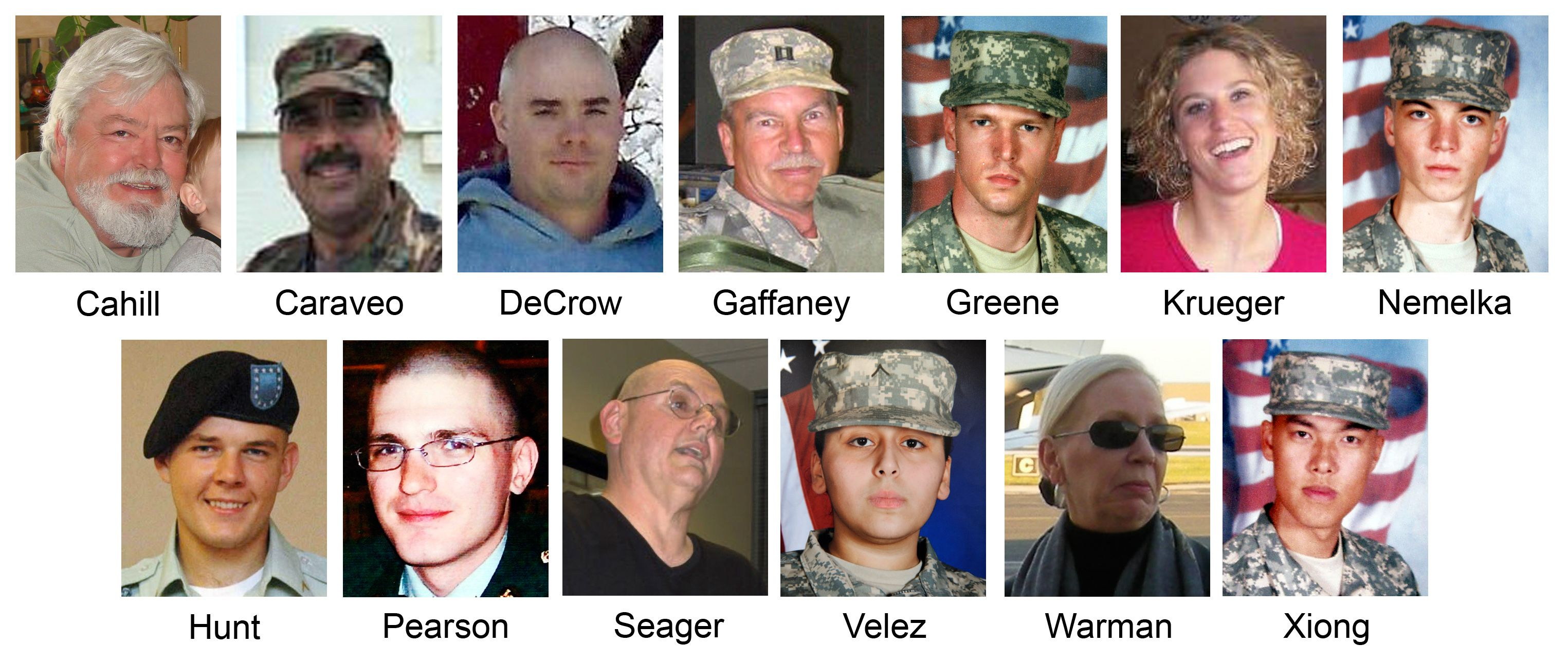 Fort Hood Shooting Victims 2009 Yahoo
