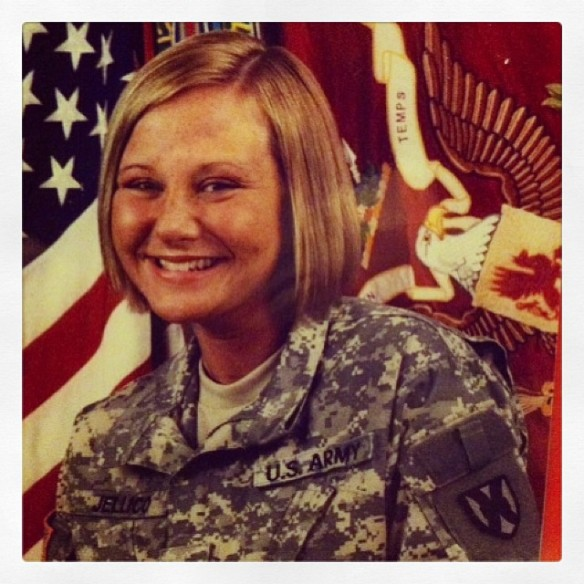 Sgt Amanda Sheldon, US Army (2010)