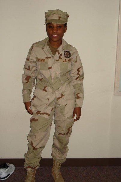 Honoring MASN Genesia Gresham @USNavy (2007)