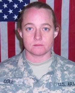 Honoring Pfc Jennifer Cole @USArmy (2008)