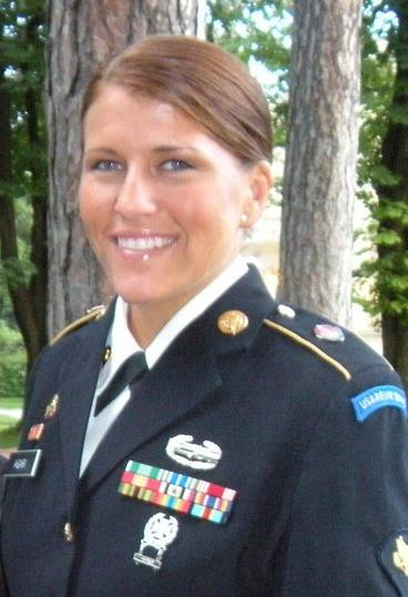 Honoring Sgt Kimberly Agar, US Army (2011)