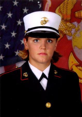 LCpl Maria Lauterbach, USMC (2007)