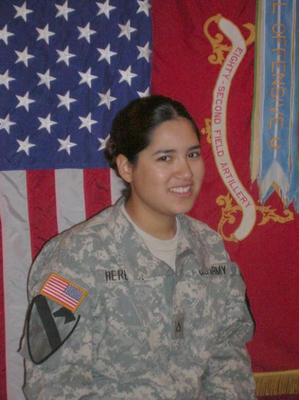 Honoring Marisol Heredia @USArmy (2007)