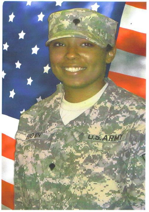 Honoring Spc Seteria Brown @USArmy (2008)