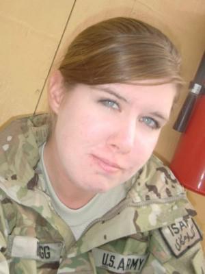 Spc Mikayla Bragg, US Army (2011)