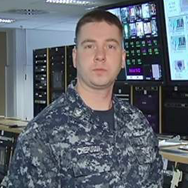 Petty Officer 2nd Class Dmitry Chepusov, US Navy