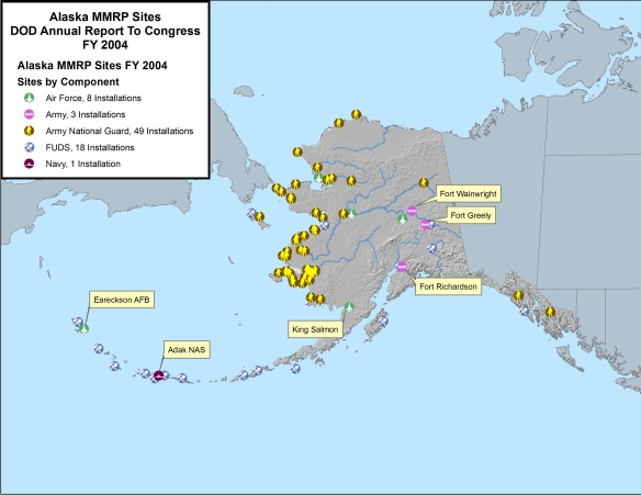 map of military bases in alaska