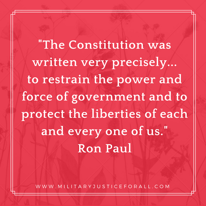 the-constitution-was-written-very-precisely-to-restrain-the-power-and-force-of-government-and-to-protect-the-liberties-of-each-and-every-one-of-us-ron-paul-2