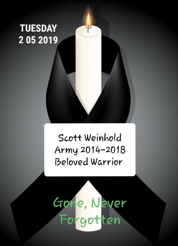 Scott Weinhold Never Forgotten
