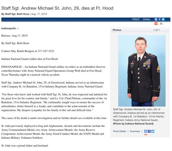 Andrew St. John ArNG
